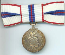 Queen Elizabeth 25th Anniversary Coronation Medal