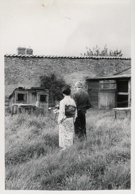 Photograph of Herbert Read at his house at Stonegrave taken by Tatsuo Fukai (3)