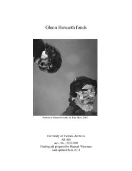 Glenn Howarth fonds