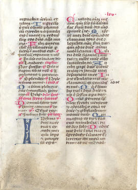 Title: Leaf from a Missal, Fragment