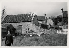 Photograph of Herbert Read at his house at Stonegrave taken by Tatsuo Fukai (2)