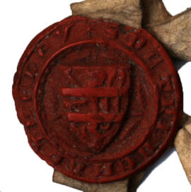 Receipt with Seal, England, Seal